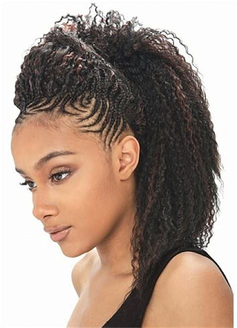 One Braid Black Hairstyles by 66 Of The Best Looking Black Braided Hairstyles For 2018
