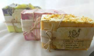 Soap packaging handmade tags ingredients on the back rustic ribbon