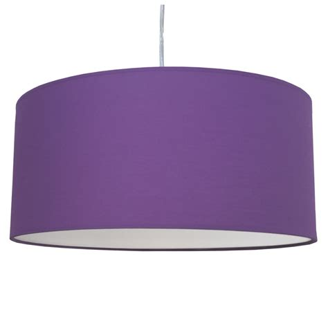 Purple Pendant Light Shade Drum Pendant Shade Royal Purple Imperial Lighting
