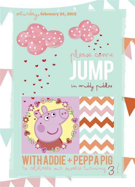 peppa pig invitations template 219 best peppa pig images on