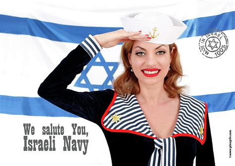We Salute You Posh Gets Back To The Day For Spice Performance by We Salute You Israeli Navy Photograph By Pin Up Tlv