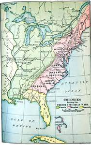 america 1754 map colonies during the and indian wars