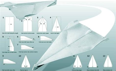 How To Make A Real Paper Airplane - paper airplanes and origami