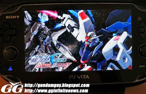 gundam wallpaper for ps vita gundam guy ps vita gundam seed battle destiny game