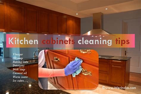 Tips For Cleaning Kitchen Cabinets Tips To Clean Kitchen Cabinets Healthylife Werindia