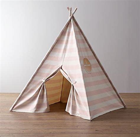 cole canvas tent bed collection rh baby child awning stripe canvas play tent restoration hardware baby