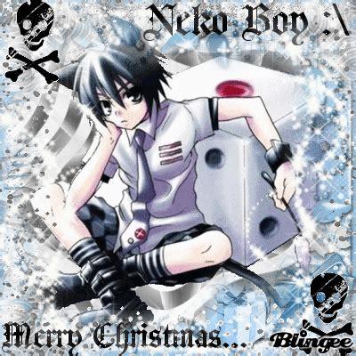 neko boy merry christmas picture  blingeecom