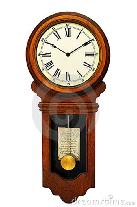 antique wall clock stock images image