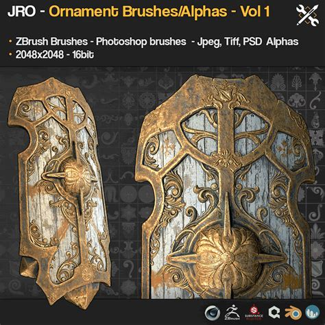 zbrush ornament tutorial jrotools on gumroad