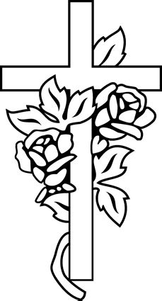 cross with roses www pixshark com images galleries