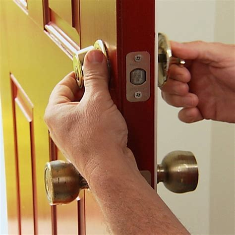 How To Fix A Door Lock by Install A Deadbolt