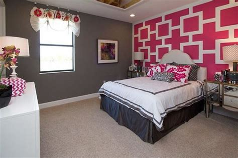 pink walls bedroom pink and gray teen bedroom grey and pink bedroom themes