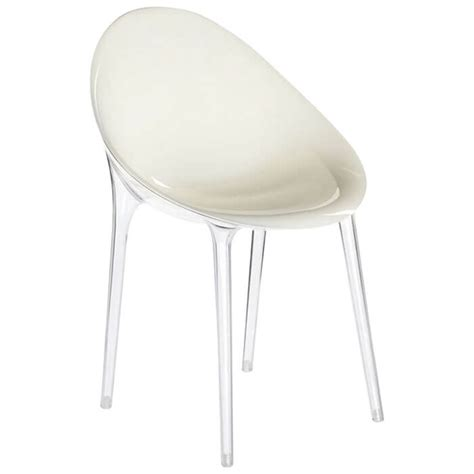 bureau starck fauteuil mr impossible blanc transparent p starck
