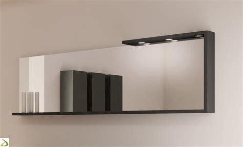 mobile specchio bagno con luce specchio con luce da bagno from arredo design
