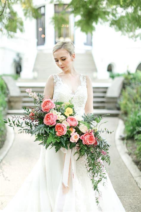 southern charm wedding inspiration with a west coast twist