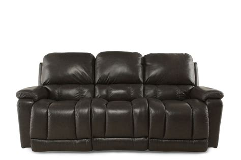 la z boy greyson charcoal power reclining sofa mathis