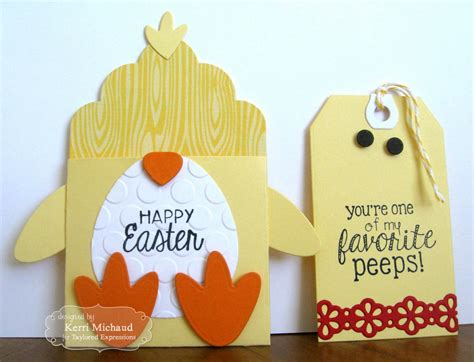 Easter Gift Cards - happy easter gift card st scrapbook expo