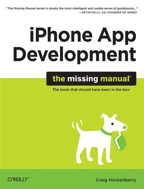 iphone the missing manual the book that should been in the box books cover iphone app development the missing manual book