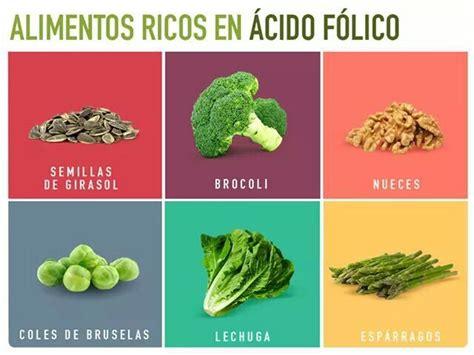 alimentos ricos en acido f lico 25 melhores ideias de 193 cido f 243 lico no pinterest