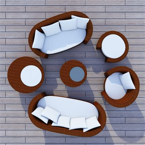 Adorable 80  Garden Furniture Top View Design Ideas Of