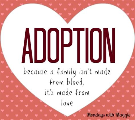 Blood Considers Adoption 2 by National Adoption Day What Makes A Real Family