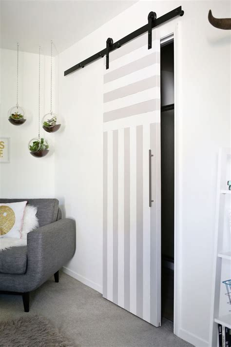 Closet Door Ideas For Small Space Sliding Door Solution For Small Spaces A Beautiful Mess
