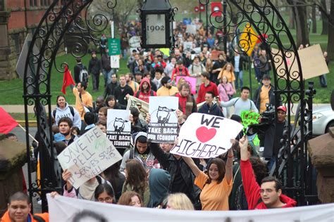Rutgers Mba Current Students by Rutgers Students Rally Against Feared Tuition Hikes