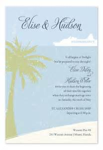 island cruise wedding invitations by invitation consultants ic rlp 764