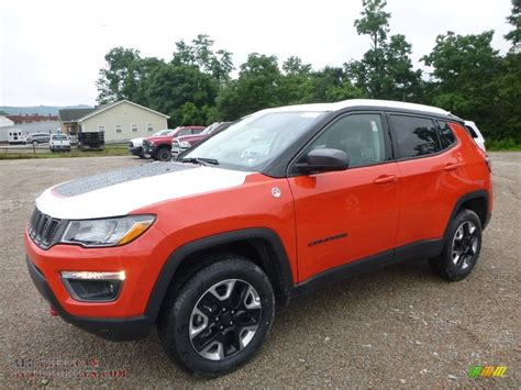 orange jeep compass 2017 jeep compass trailhawk 4x4 in spitfire orange