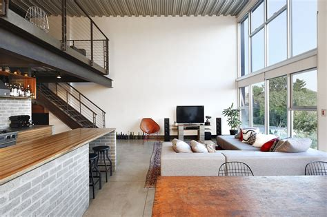 industrial apartment custom loft style condo in seattle with stylish industrial elements idesignarch interior