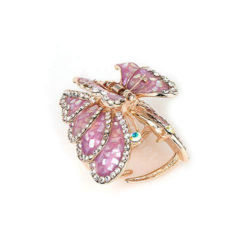 buy wholesale hair jewelry rhinestone butterfly