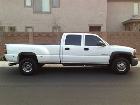 how make cars 2005 gmc sierra 3500 transmission control sell used 2005 gmc 3500 drw turbo diesel 4x4 crew cab low miles in north las vegas nevada