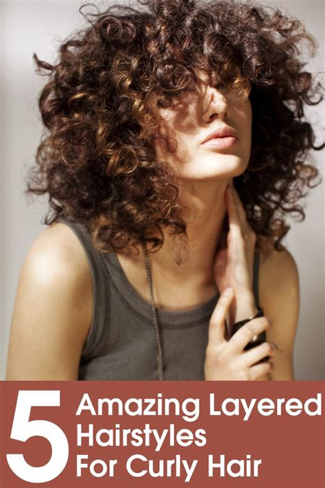 hairstyles for short curly layered hair at the awkward stage 206 best short hair styles images on pinterest hair cut