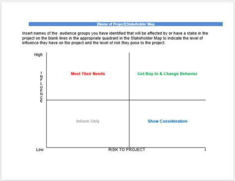 stakeholder document template stakeholder analysis template 13 exles for excel