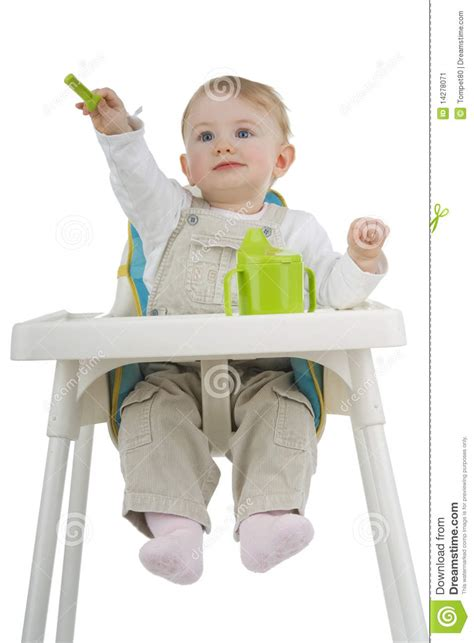 Child With White Stool by Child On Child S Stool Stock Image Image 14278071