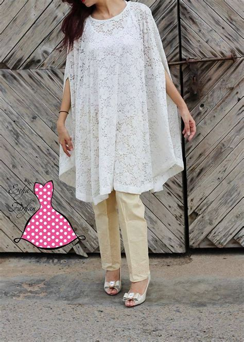 karachi pattern dress image cape shirt pakistani cape dress pattern pinterest