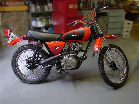 1978 honda xl 125 photoshop paint