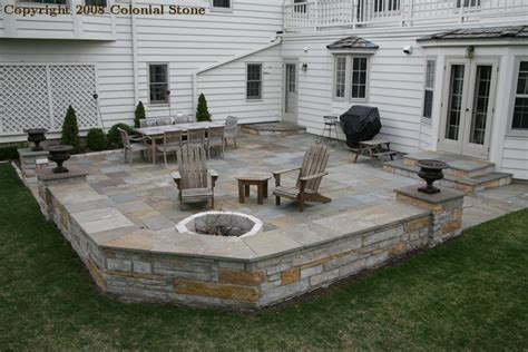 backyard fond du lac patio bluestone patterned bluestone patio with fond du