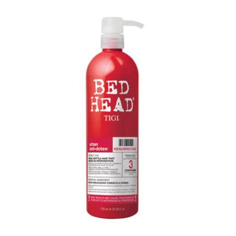 bed head conditioner tigi urban antidotes resurrection conditioner bed head