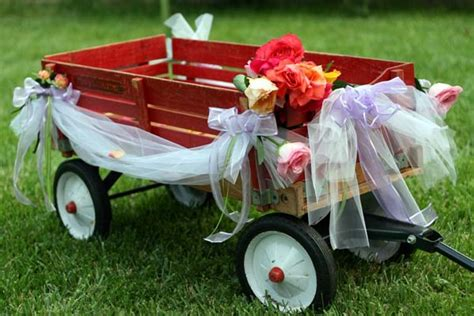 Pictures Of Wedding Wagons For Flower by Flower And Dapper Dudelets Weddingbee