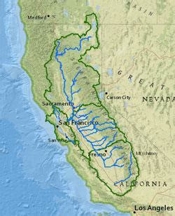 california watershed map san francisco bay watershed