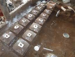 Cetakan Ceper pasir cetak dalam pengecoran logam logamceper
