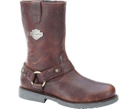 mens tan motorcycle boots harley davidson men s josh 10 inch black brown or tan