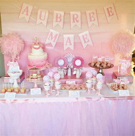 Ballerina Baby Shower Theme by Amanda S To Go Ballet