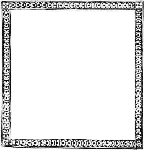 Decorative Page Borders by Decorative Border Clipart Etc