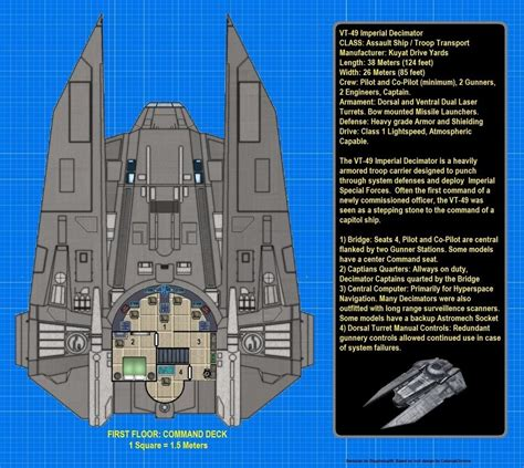 star wars ship floor plans d harman uploaded this image to deckplans see the album