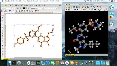 chem doodle screenshots chemical drawing software
