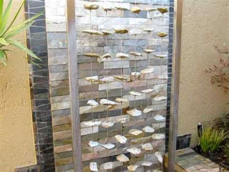 rain curtain water feature using a rain curtain water feature to great effect in a