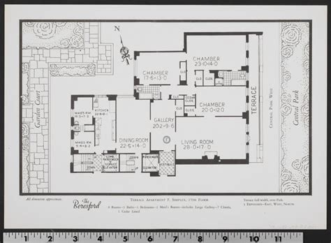 west 10 apartments floor plans central park west over the years untapped cities