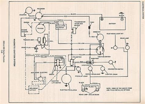 allis chalmers 300 series wiring diagrams allis